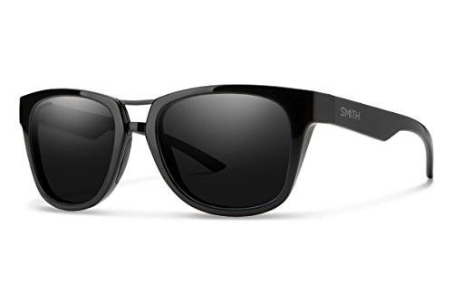 【はこぽす対応商品】 スミスSMITH Landmark Chroma Pop Polarized Sunglasses, Black, パリットフワット 8819e69c