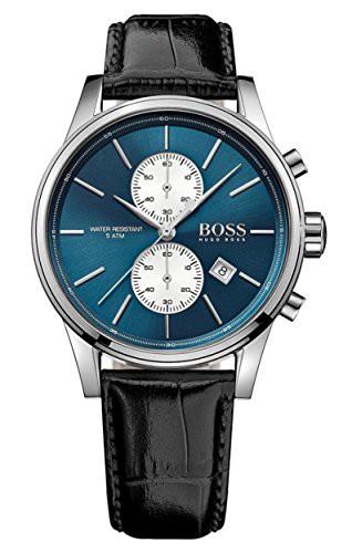 値引 【当店1年保証】ヒューゴボスHugo Boss 1513283 Silver Men's Chronograph Jet Boss Blue & Silver Dial Chronograph Watch, フロアマット販売アルティジャーノ:b9ec7cb2 --- 1gc.de
