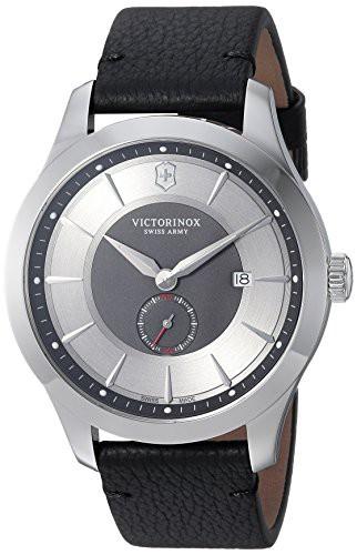 【受注生産品】 【当店1年保証】ビクトリノックスVictorinox Men's Watch Alliance Men's Stainless Steel Alliance Swiss-Quartz Watch w, 趣味とオシャレの店 ホビーマート:261d1ffd --- schongauer-volksfest.de