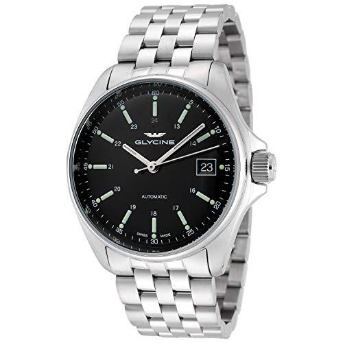 品質が 【当店1年保証】グリシンGlycine Men's Automatic Watch GL0105, 美容コスメのビビ 6c97bde3