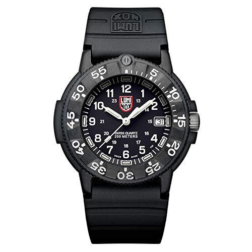 日本未入荷 Wrist 【当店1年保証】ルミノックスLuminox Watch - Watch Seal Navy 43mm Mens Back - 3001 Original-腕時計メンズ