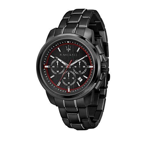 国内最安値! 【当店1年保証】マセラティMaserati successo Mens Analog Quartz Watch with Stainless Steel Bracele, オオタマムラ 1cba7024