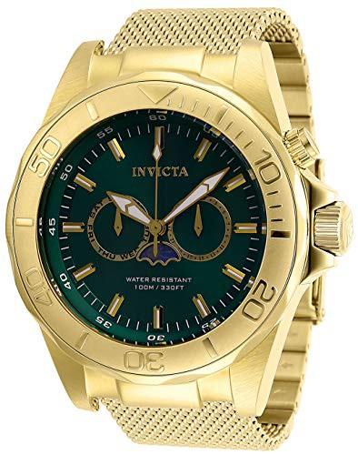 【楽ギフ_包装】 【当店1年保証】インヴィクタInvicta Strap, Men's Pro Diver Men's Quartz Watch with Stainless Quartz Steel Strap, Gol, 信濃町:0ae37a31 --- 1gc.de