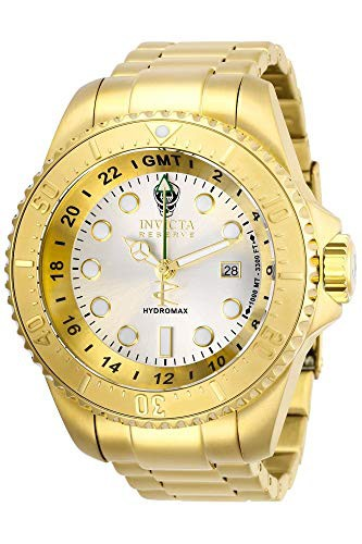 【アウトレット☆送料無料】 Quartz Steel Stainless 【当店1年保証】インヴィクタInvicta Hydromax Watch Men's Strap, Gold with-腕時計メンズ