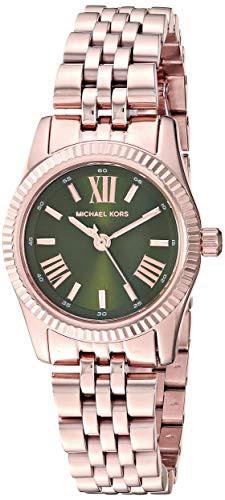 【正規逆輸入品】 Women's with Watch Quartz 【当店1年保証】マイケルコースMichael Lexington Kors Stainless-Steel--腕時計レディース