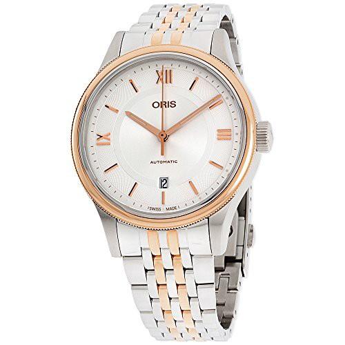 今年も話題の 【当店1年保証】オリスOris Classic Date Automatic Men's Watch 01 733 7719 4371-07 8 20 12, スサチョウ f9035a71