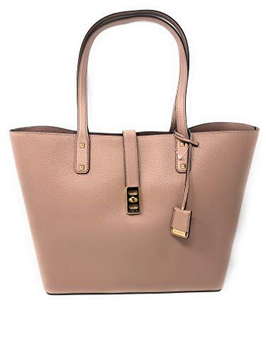 【日本製】 マイケルコースMichael Kors Karson Large Carryall Leather Tote Bag (Fawn), AOIコレクション 327aa4af