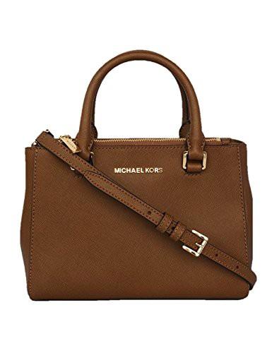 【福袋セール】 Handbags Michael XSMALL SATCHEL Leather (LUGGAGE) マイケルコースMICHAEL Women's KELLEN Shoulder Kors-バッグ
