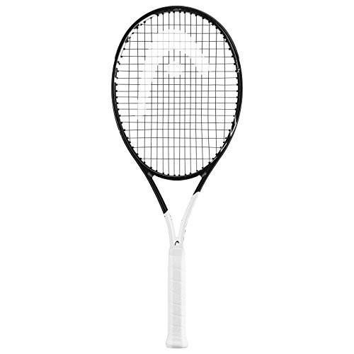 大洲市 テニスHEAD Graphene 360 Speed MP Midplus 16x19 Black/White Tennis Racquet (4 1/4