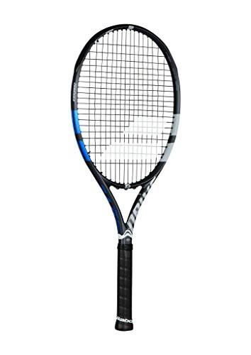 豪華で新しい テニスBabolat Drive G 115 Oversized and Extended Black/Blue/Grey Tennis Racquet (4