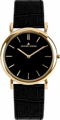 【税込】 【当店1年保証】ジャックルマンJacques Lemasn Vienna 1-1371E Lemasn Ladies Black Strap Leather Strap Vienna Watch, KAIATTA カイアッタ:dc047b39 --- 1gc.de