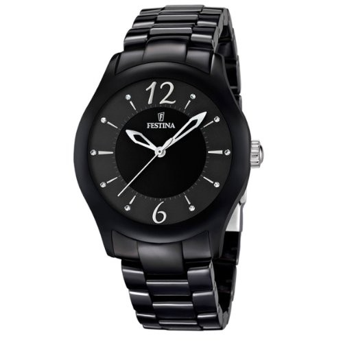 【特別訳あり特価】 f16638-2 - Ceramic 【当店1年保証】フェスティナGENUINE Time Watch FESTINA Only Female CERAMIC-腕時計レディース
