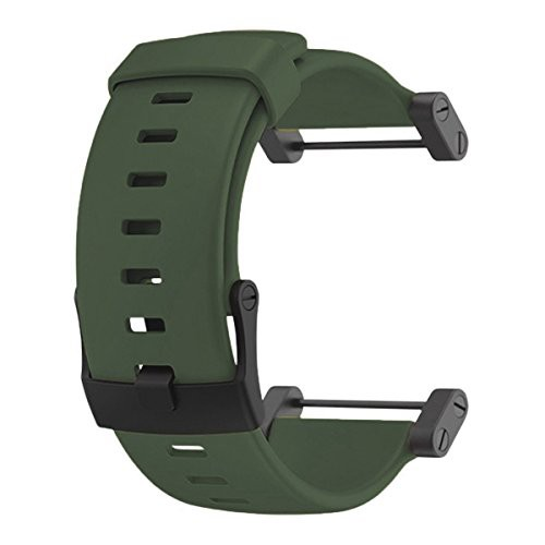 【当店1年保証】スントSuunto Core Accessory Strap Army Green One Size Rubber Band Black Buckle Adap