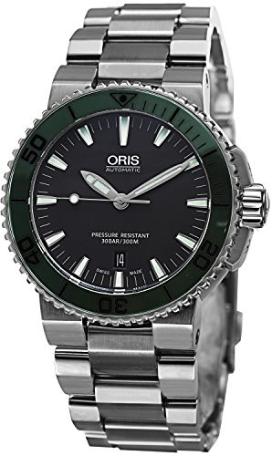 【当店1年保証】オリスOris Men's 73376534157MB Analog Display Swiss Automatic Silver Watch