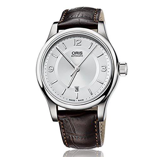 大流行中! 【当店1年保証】オリスOris 7594 Classic Date Mens Watch 733 7594 Date Watch 4031 LS, 市川大門町:107cad57 --- kzdic.de