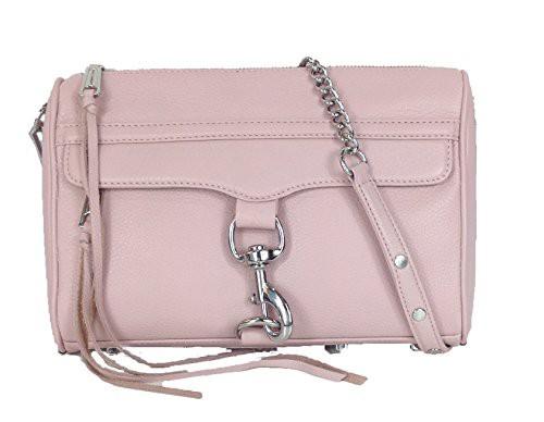 魅力的な価格 レベッカミンコフRebecca Minkoff MAC Leather Clutch Crossbody Bag, Blush, 釣鐘屋本舗 d41d8cd9