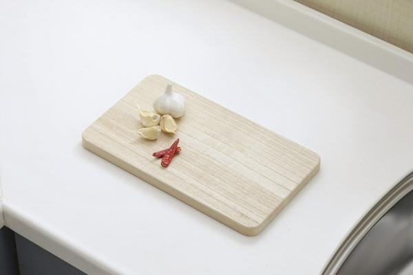 桐の逸品シリーズ「桐子モダン」 まな板 ミニ 12110