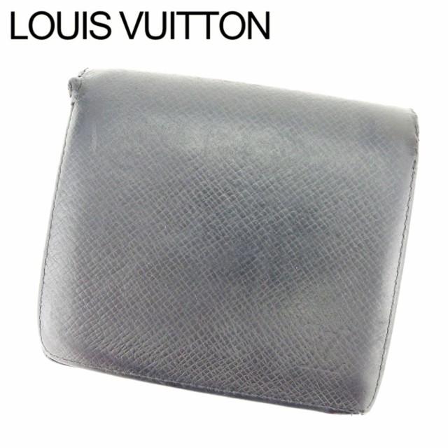 premium selection bea7f 5f1dc ルイ ヴィトン LOUIS VUITTON 二つ折り財布 財布 小物 サイフ メンズ タイガ 【中古】 E1310|au Wowma!(ワウマ)