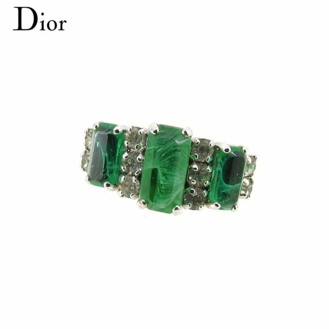 【格安saleスタート】 ディオール Dior 指輪 リング レディース ストーン 【】 L2496, 焼きまんじゅうshop  田中屋製菓 55f9225d