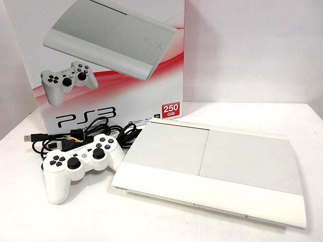 PS3 PlayStation プレステ プレイステーション CECH-4000B 白 本体 ベクトル【中古】