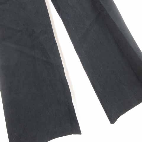 エンスイート ensuite パンツ ズボン ロング 黒 ブラック 2 S-17102407 レディース ベクトル【中古】