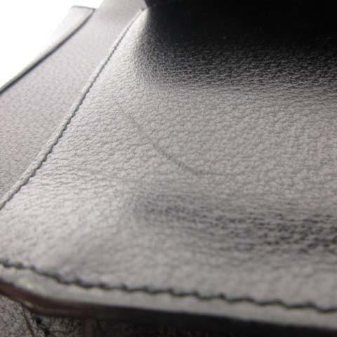 グッチ GUCCI ハンドバッグ 鞄 レザー 黒 ブラック O-17120514 メンズ レディース ベクトル【中古】