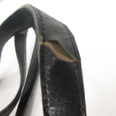 プラダ PRADA トートバッグ ハンドバッグ 鞄 ナイロン レザー 黒 ブラック O-17122301 レディース ベクトル【中古】