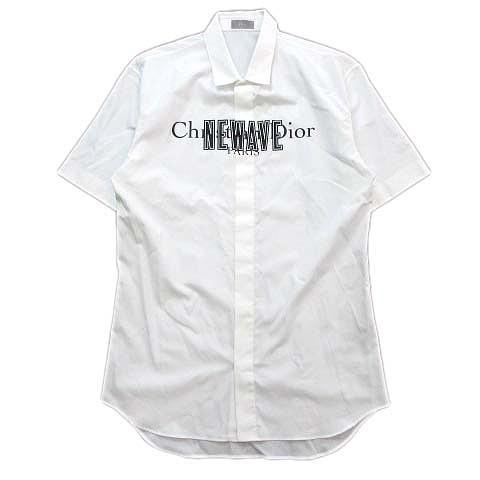 特売 【】美品 17SS ロゴ ディオールオム Dior HOMME HOMME NEWAVE ロゴ プリント シャツ シャツ カットソー 半袖 733C515I7880 40◇2 ※, ナミアイムラ:f65599d3 --- chevron9.de