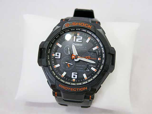 2d58022fb1 カシオジーショック CASIO G-SHOCK スカイコックピット GW-4000 電波ソーラー 腕時計 ブラック