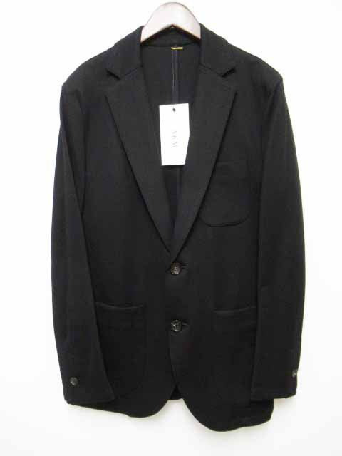 完璧 191220 ストレッチ 黒 19SS B319 AKM テーラードジャケット Black イージー EASY L SWING JKT 【】エーケーエム-ジャケット・アウター