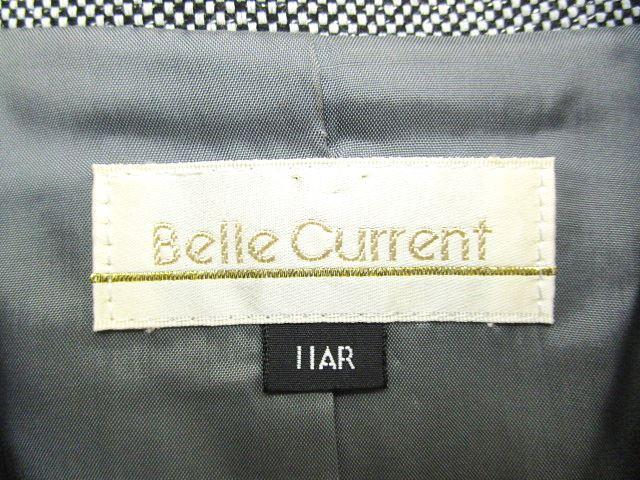 東京イギン belle current スーツ スカート セットアップ 3Bシングル ラメ入り 入学式 卒業式 11 グレー S85792 レディース