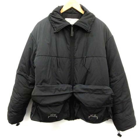 【時間指定不可】 【】アコールドウォール A-COLD-WALL パッファージャケット Puffer Jacket 中綿 ジップアップ S 黒 /EK メンズ, イナカワマチ 0bbd7639