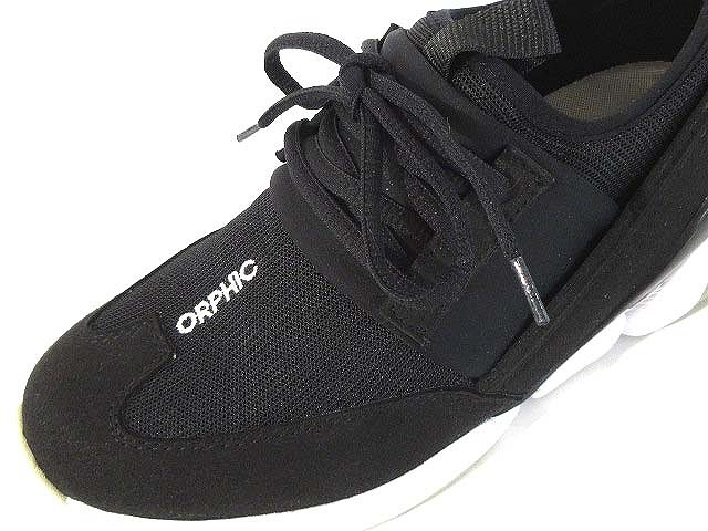 オルフィック ORPHIC 17SS スニーカー OPINE 3 レースアップ ブラック L7.0 レディース ベクトル【中古】