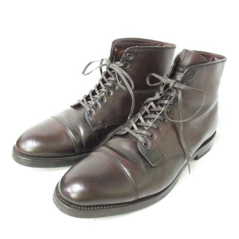 安い購入 【】オールデン ALDEN 4060 シェルコードバン キャップトゥ ブーツ シューツリー付き 元箱付き 9 1/2 D 約27.5cm 1116 メンズ, ユニバーサルトレーダー 6f61f2f6