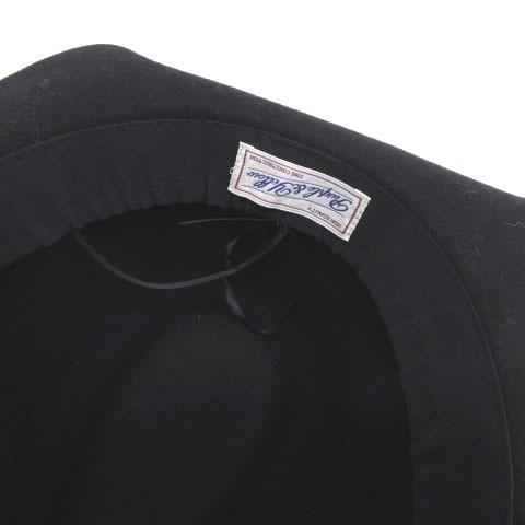 パープルアンドイエロー パープル&イエロー Purple&Yellow ハット 中折れ つば広 黒 ブラック 帽子 180124 レディース ベクトル【中古】
