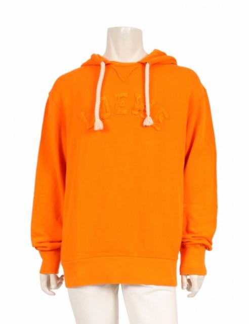 【返品不可】 【】ロエベ LOEWE LOEWE プルオーバーパーカー ロゴ オレンジ 18AW L トップス ロゴ 長袖 コットン オーバーサイズ 18AW メンズ, アサヒシューズ直営店:b2ac5b73 --- 1gc.de