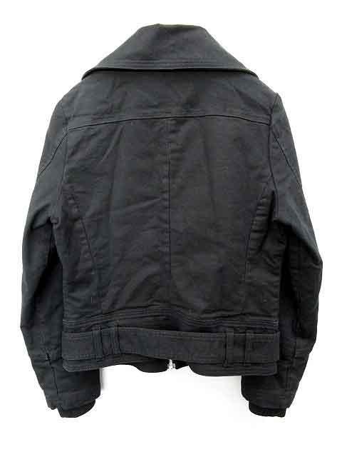 シマロン CIMARRON ジャケット ジップアップ 中綿 M 黒 /MR596 レディース ベクトル【中古】