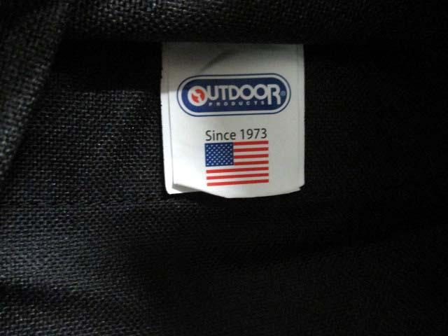 アウトドアプロダクツ OUTDOOR PRODUCTS リュックサック ティバッグ キャンバス 黒 /KA20 ● メンズ ベクトル【中古】