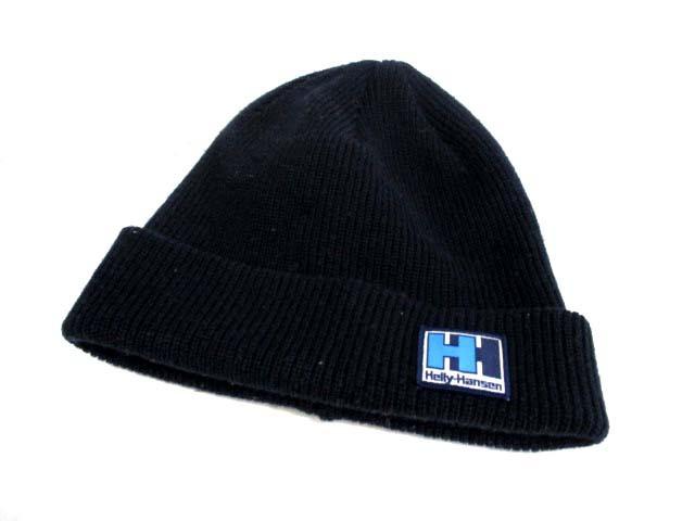 ヘリーハンセン HELLY HANSEN ニットキャップ ニット帽 F 紺 /DJ ● メンズ レディース ベクトル【中古】