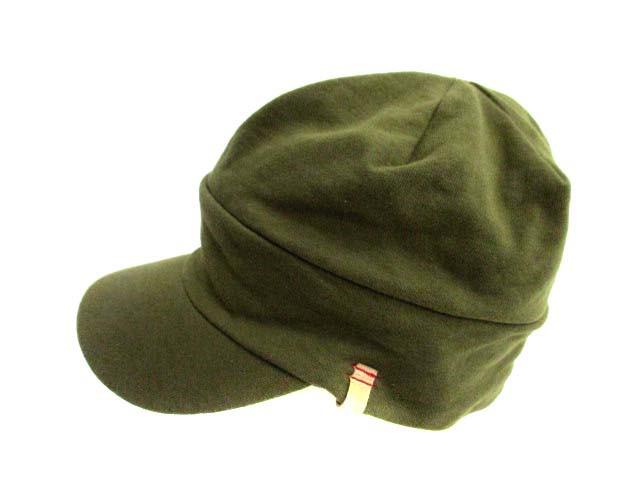 グレースハット grace hats 帽子 ワークキャップ カーキ /KA11 ● レディース ベクトル【中古】