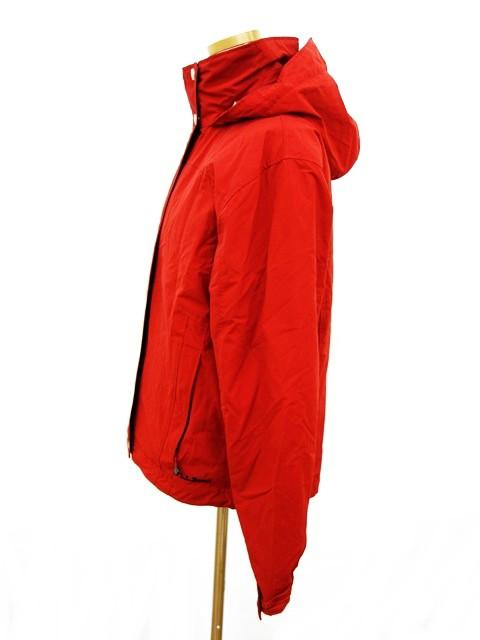 エルエルビーン L.L.BEAN マウンテンパーカー ジャケット フード フリース S-REG 赤 レッド レディース ベクトル【中古】