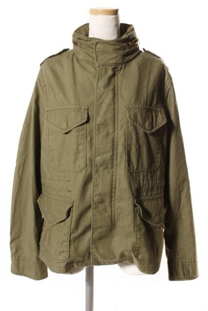 【】ドゥーズィエムクラス DEUXIEME CLASSE ジャケット 15AW M-65 ミリタリー コットン 38 カーキ 15-010-500-8010-3-0