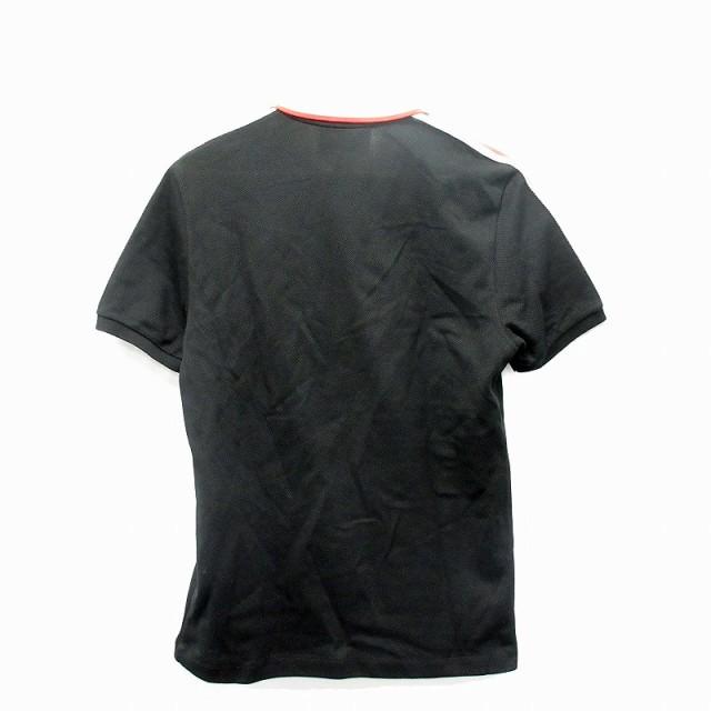 buy popular 265c7 39df7 【中古】グッチ GUCCI ポロシャツ 半袖 M 黒 /MF メンズ|au Wowma!(ワウマ)