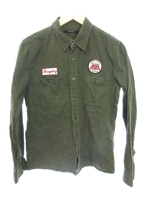 中古 アメリカンラグシー American Rag Cie シャツ ステンカラー 長袖