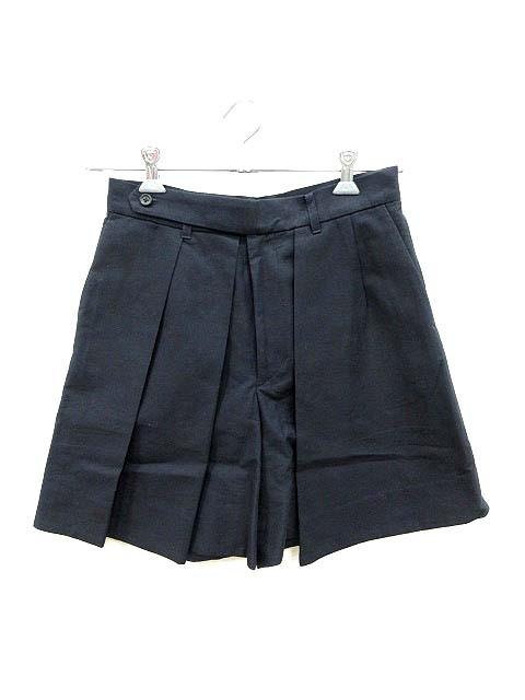【】ダジリータ D'agilita パンツ ショート キュロット 36 紺 ネイビー /KB レディース