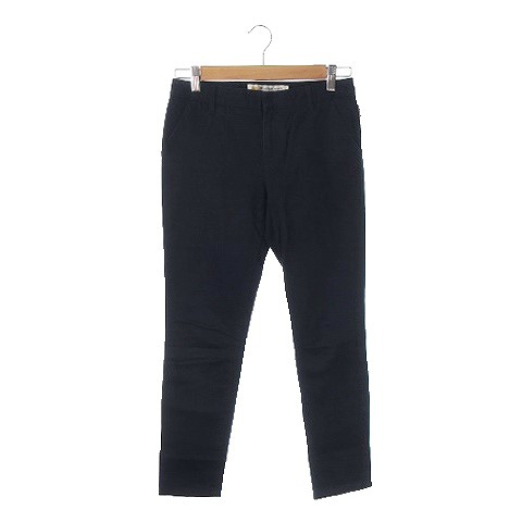 【】ベット&ブレックファスト B&B STANDARD パンツ チノ ストレート ローライズ 小さいサイズ TINY 紺 ネイビー