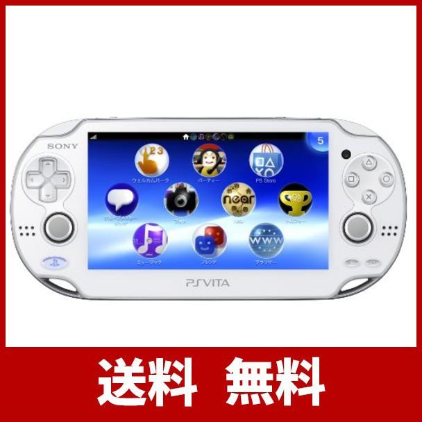 激安単価で PlayStation Vita (プレイステーション ヴィータ) Wi‐Fiモデル クリスタル・ホワイト (PCH-1000 ZA02)【メーカー生産終了】, Mr.vibes web store 49a4c369