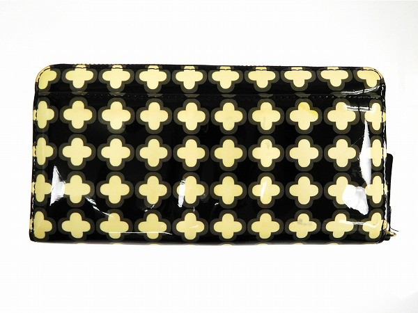 ケイト・スペード 財布 kate spade 長財布 ホワイト×ブラック 即納 【中古】 X12833