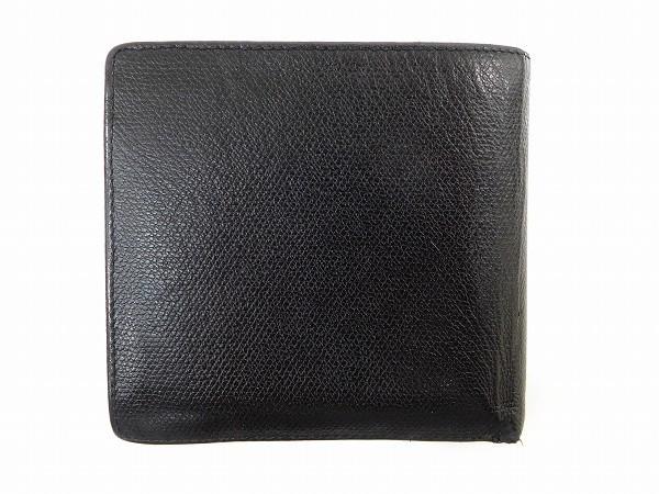 シャネル 財布 CHANEL 二つ折り財布 11番台 ブラック 即納 【中古】 X15658