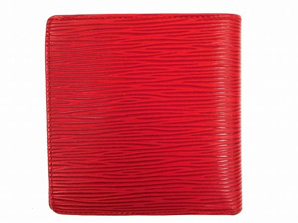 ルイヴィトン 財布 LOUIS VUITTON 二つ折り財布 レッド 人気 即納 【中古】 X15913